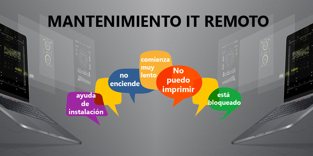 mantenimiento IT remoto